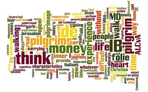 WordCloud Pilgrim Dialogue
